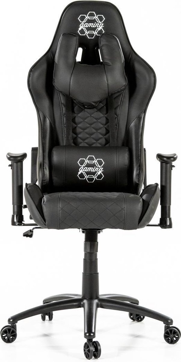 Goets Gamestoel Alain - Gaming Stoel - Gaming Chair - Zwart