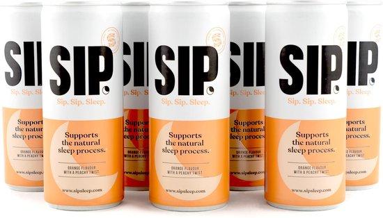 6-pack SIP.Sleep (6x250ml) slaap beter slapen slapeloosheid energy drink energiedrank slaapproblemen volwassenen slaapstoornissen slecht slapen sportdrinks sportdranken