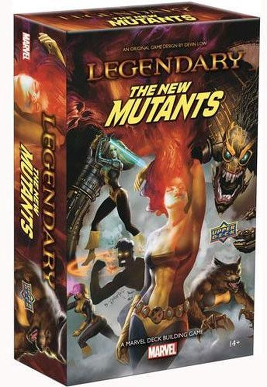 Legendary: A Marvel Deck Building Game The New Mutants