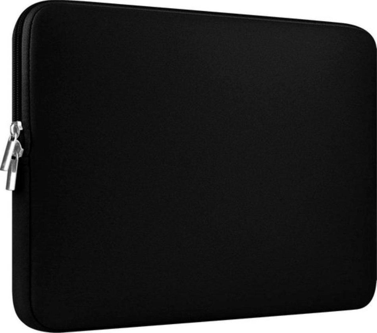 """""""Neopreen Soft Sleeve Voor de Apple Macbook Air / Pro (Retina) 13 Inch - 13.3"""""""" Laptop Case - Zwart"""""""