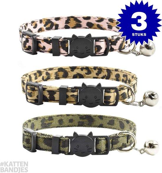Titan Kattenhalsband   3-pack