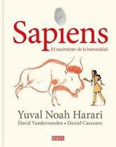 Omslag Sapiens: Volumen I: El nacimiento de la humanidad (Edicion grafica) / Sapiens: A Graphic History
