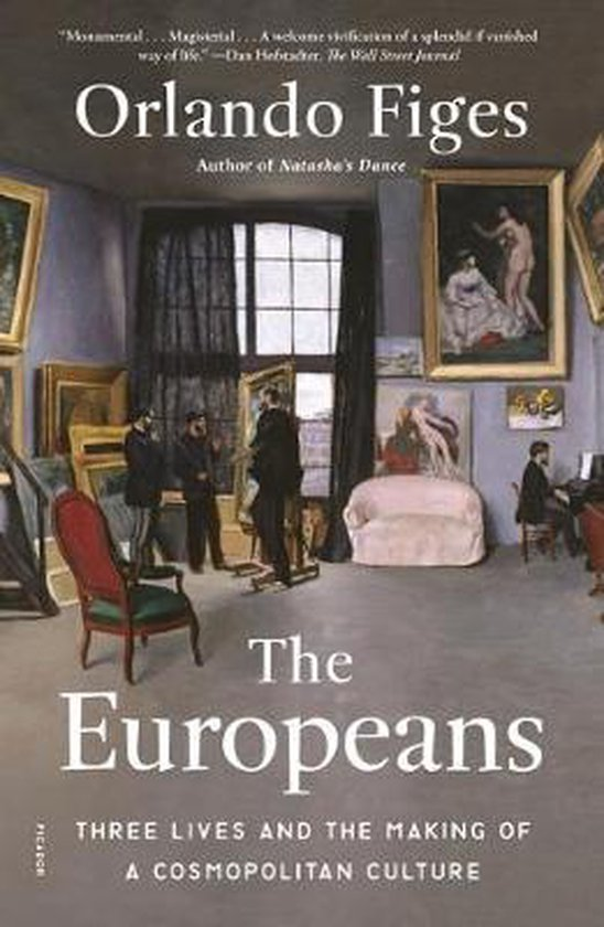Boek cover The Europeans van Orlando Figes (Paperback)
