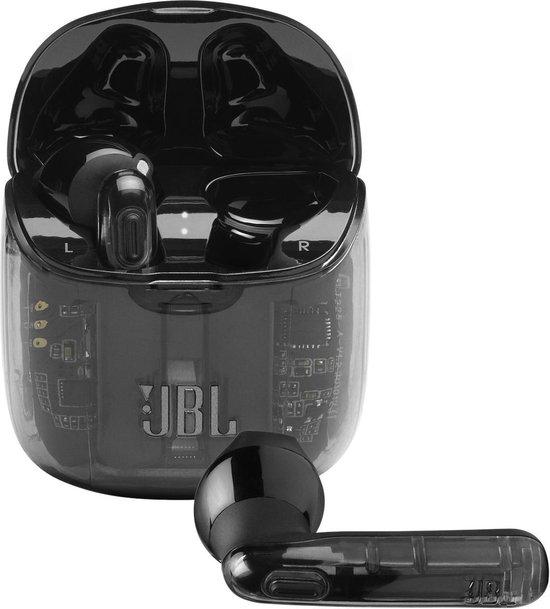 JBL TUNE 225TWS Ghost Zwart - Volledige draadloze oordopjes