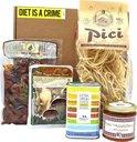 CASABASE Italiaans Cadeaupakket Pici Pasta & Olijven Cadeau Pakket Kerstpakket Relatiegeschenk Kado