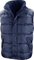 Result Heren Core Nova Lux Gevoerde Fleece Gevoerde Bodywarmer Jacket (Marineblauw)