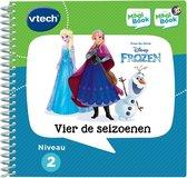 VTech MagiBook Activiteitenboek Frozen - Vier de Seizoenen - Educatief Speelgoed - Niveau 2