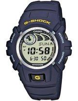 Casio G-SHOCK G-2900F-2VER Horloge - Kunststof - Blauw - Ø 46 mm