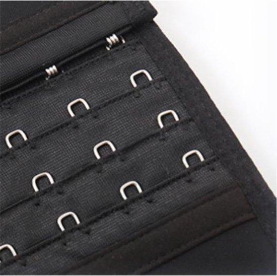 Waist shaper corset vrouwen - Korset buik met verstelbare strap - Waist trainer m - Maat M (Taille 61 - 68cm)