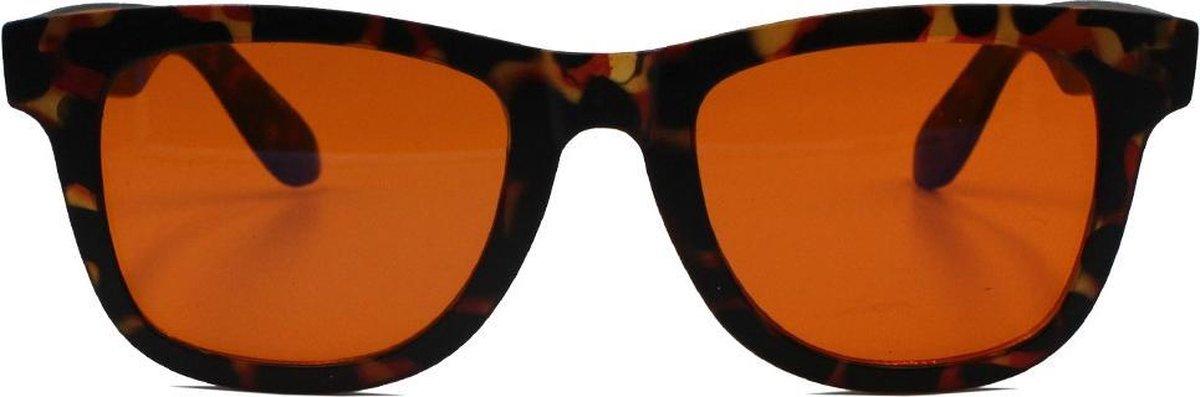 Blauw Licht Filter Bril | voor Betere Slaap | Computer en Gaming Bril met Oranje Lenzen | Help je te Relaxen en je Ogen te Ontspannen | Nachtbril met Anti Blauw Licht Lenzen kopen