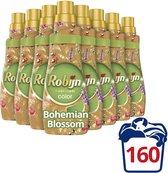 Robijn Klein & Krachtig Color Bohemian Blossom Vloeibaar Wasmiddel - 8 x 20 wasbeurten - Voordeelverpakking