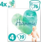 Pampers Harmonie / Pure Maat 4 (9-14kg) 76 Luiers