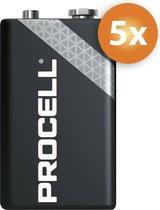 Procell 9V Alkaline - 5 Stuks -