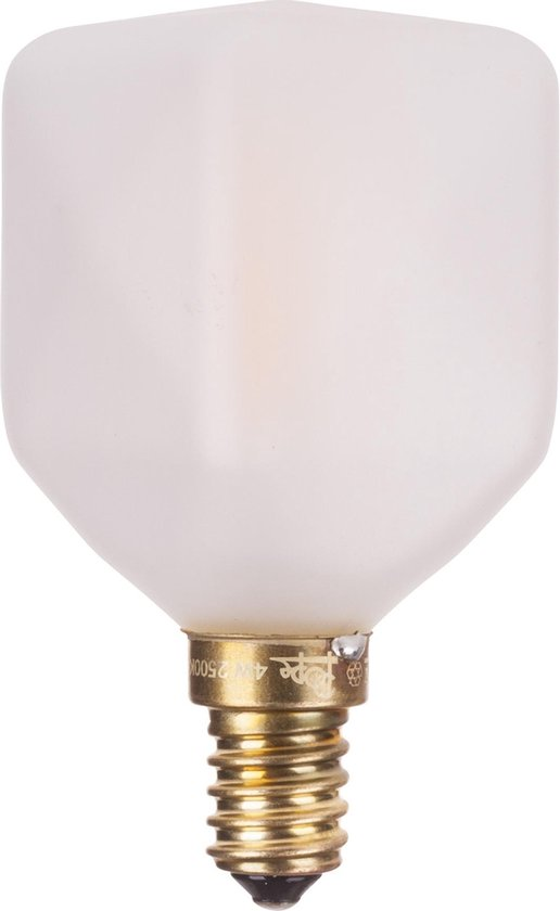 Pope Cube LED E14 - 4W - 250lm - extra warm wit - dimbaar