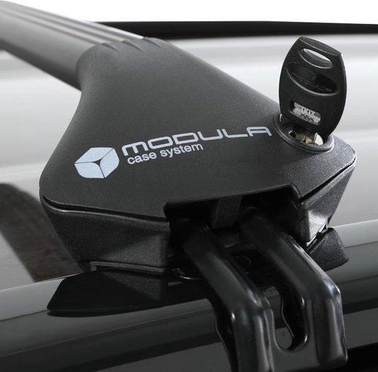 Modula dakdragers Jaguar F-Pace 5 deurs SUV vanaf 2016 met geintegreerde dakrails