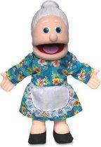 Handpop Grootmoeder Sillypuppets 14''