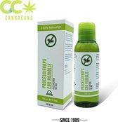 CannaCans® CBD Processierups Huidolie - Bio Oil - 250mg CBD - 100 ML -