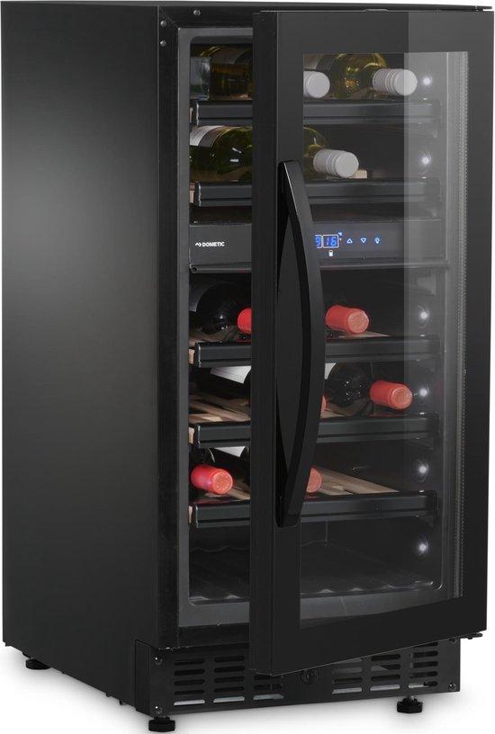 Koelkast: Dometic Elegance E28FG - Wijnkoelkast - 28 flessen, van het merk Dometic Elegance