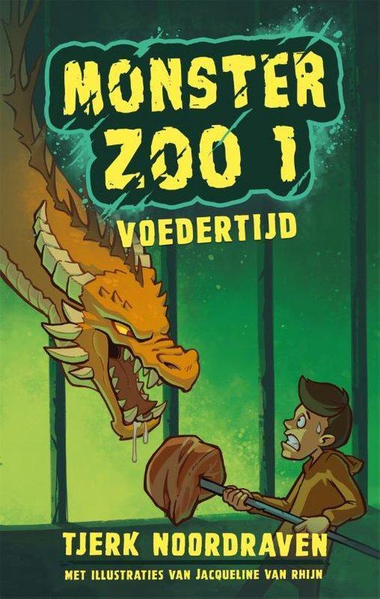 Boek cover Monster Zoo 1 -   Voedertijd van Tjerk Noordraven (Hardcover)