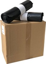 Containerzakken 240 liter 115x140cm   70 micron zwart - 100 stuks