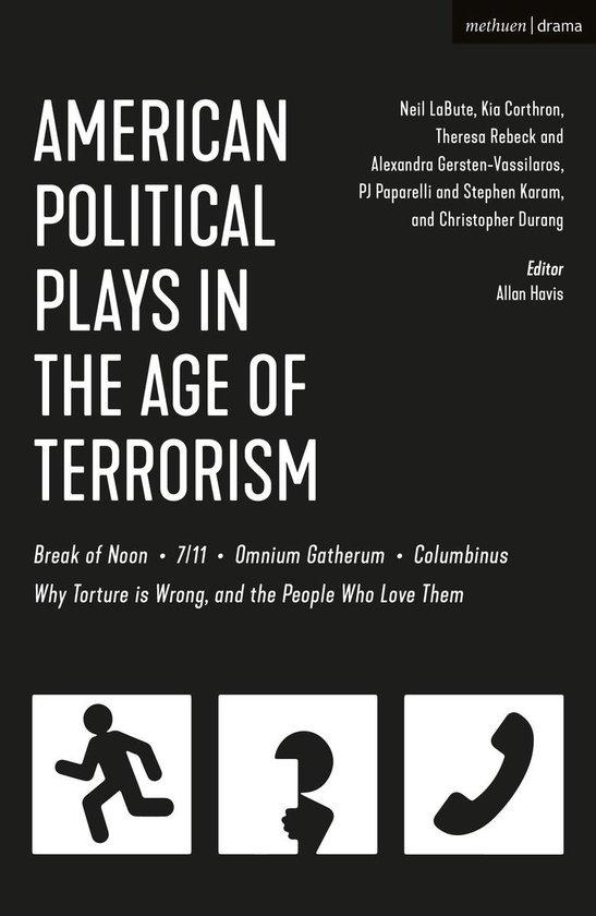 Boek cover American Political Plays in the Age of Terrorism van Neil Labute (Onbekend)