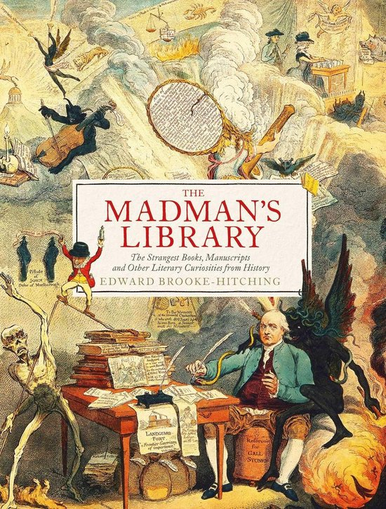 Boek cover The Madmans Library van Edward Brooke-Hitching (Onbekend)