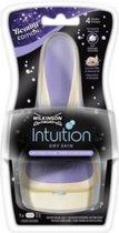 Wilkinson Houder Intuition Dry Skin Cocos & Almond - Incl. 1 mesje