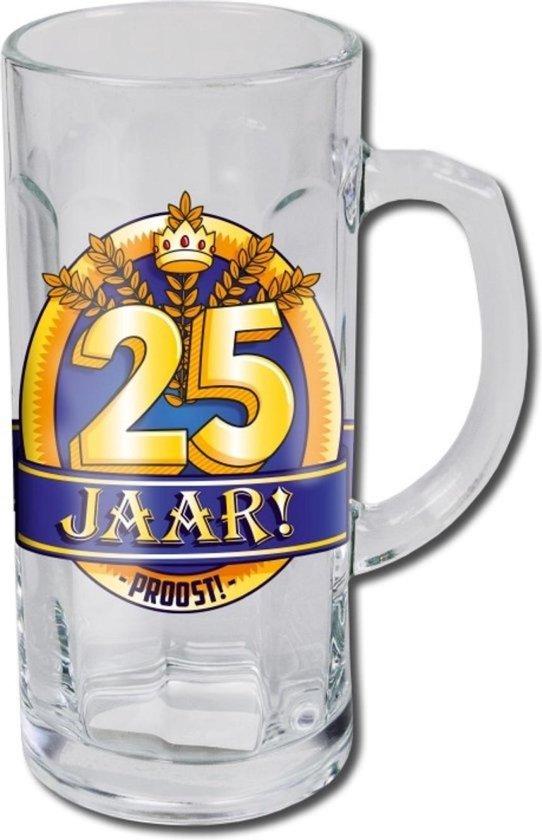 Bierglas - Bierpul - 25 Jaar