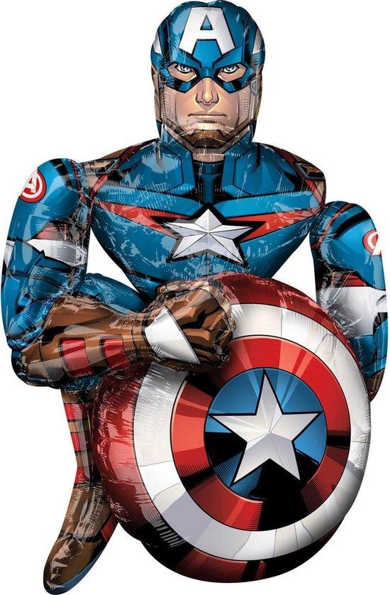 Amscan Folieballon Captain America 99 Cm Folie
