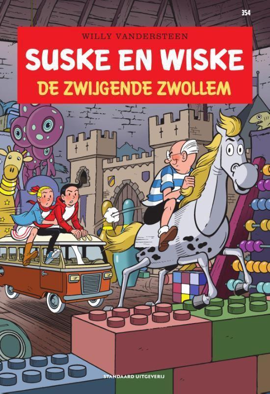Boek cover Suske en Wiske 354 -   De zwijgende zwollem van Willy Vandersteen (Paperback)