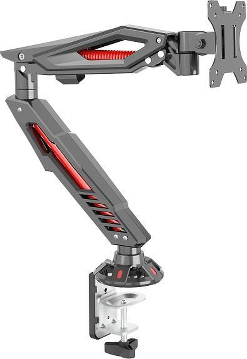 XTRArm GA2000 Gaming Monitorarm zwart rood kopen