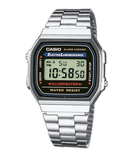 Casio Vintage Iconic A168WA-1YES Dames Horloge - 36.3 mm