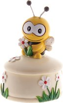 Tandendoosje jongen/meisje | tanden opbergdoosje | met bij en bloem | tandenfee | babyshower | weggeefcadeau | bedankje | decoratie
