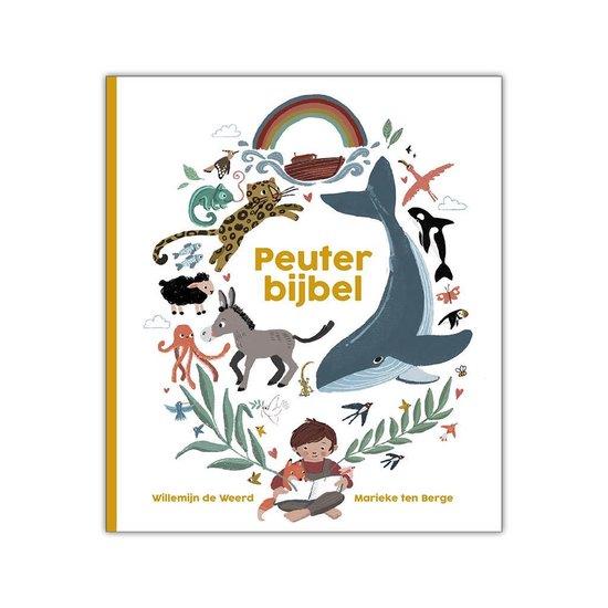 Boek cover Peuterbijbel van Willemijn de Weerd (Hardcover)