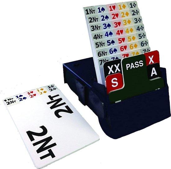 Afbeelding van het spel Startpakket bridge inclusief bridgeboards - blauw