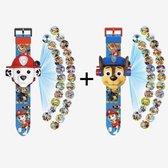 PAW Patrol Projector Horloge COMBI DEAL- Digitale Kinder Horloge - Speelgoed Watch - SUPER SALE!