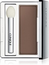 Clinique All About Shadow Soft Matte Eyeshadow - 2,2 gr - AC French Roast - oogschaduw met kwastje - Bruin