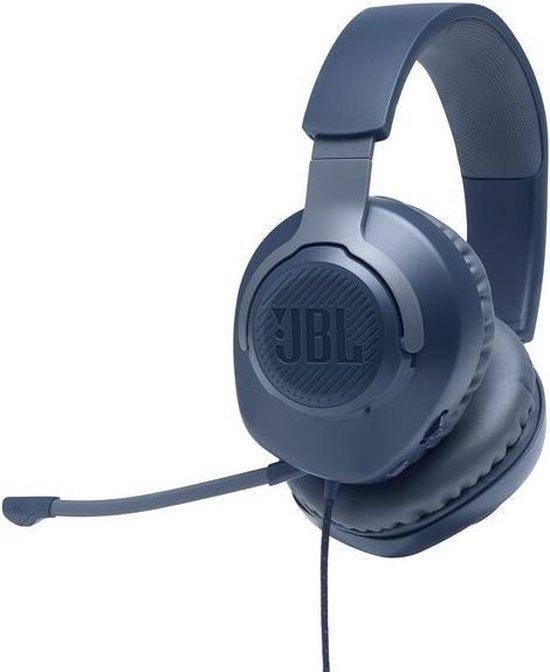 JBL Quantum 100 Blauw Gaming Headphones - Over Ear