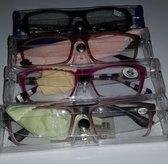Leesbril diverse motieven Sterkte +1