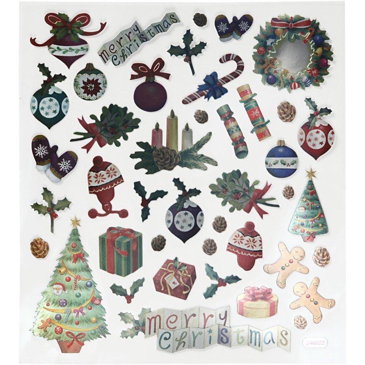 Mijn Bullet Journal Stickerboek - Kerst Editie + 3 extra Kerst Motieven Stickervellen