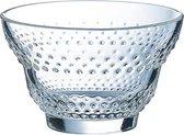 MAEVA DOT DESSERT GLASS 20 CL SET 6 - Transparant