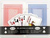 Luxe Speelkaarten Set 2 x 56 Kaarten in Luxe opbergbox