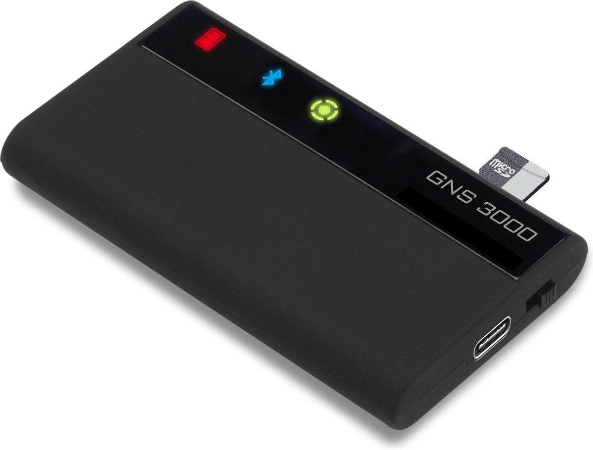 GNS Electronics GNS3000 GPS-ontvanger Multifunctionele tracker Zwart
