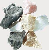 Speksteen losse stenen 1,2 kilo