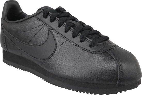 Nike Cortez Classic Leather 749571-002, Mannen, Zwart, Sneakers maat: 44.5 EU