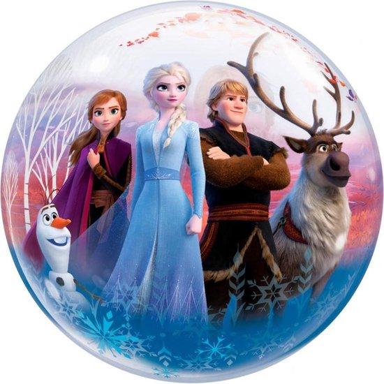 Folieballon - Frozen 2 - Bubble - 56cm - Zonder vulling