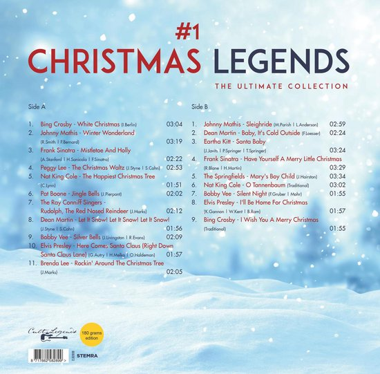 Christmas Legends (LP)