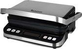 TurboTronic CG800 Digitale Contactgrill - Grillplaat - Zwart / RVS