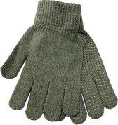 Hockeyhandschoenen Winter Sport Handschoenen - Extra Grip - Anti Slip - Junior - S / M - Meisjes / Jongens - Grijs