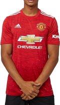 Adidas Manchester United Fc Thuisshirt 20/21 Rood Heren
